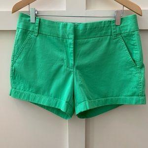 j crew kelly green chino shorts